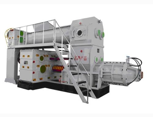 ◆重型双级真空制砖机