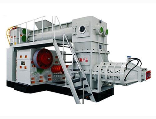 ◆双缸双级真空制砖机